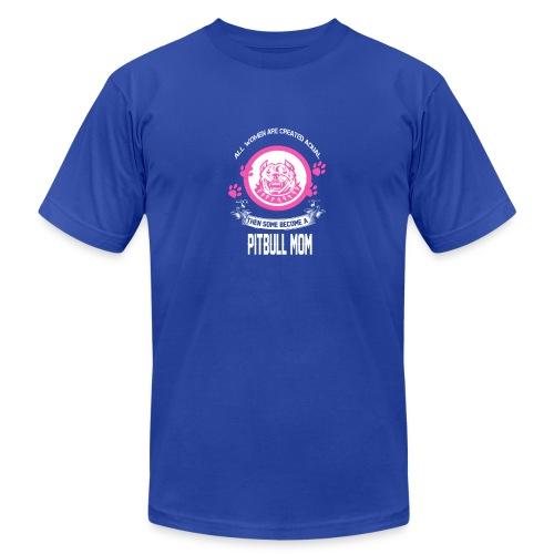 pitbullmom - Men's  Jersey T-Shirt