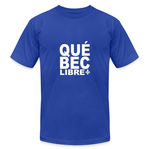 Québec libre - Unisex Jersey T-Shirt by Bella + Canvas
