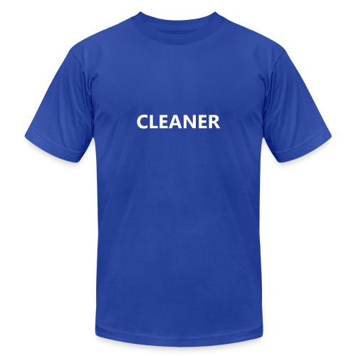Cleaner - Unisex Jersey T-Shirt by Bella + Canvas