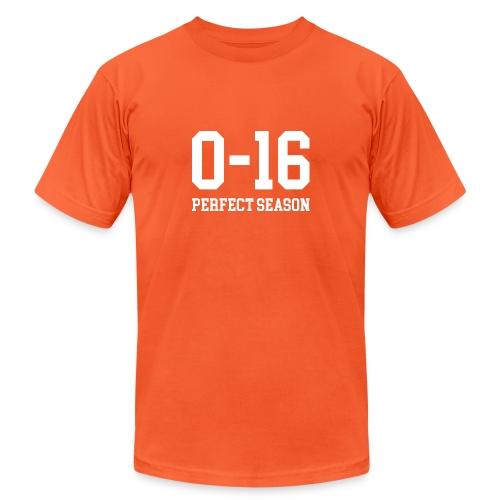 Detroit Lions 0 16 Perfect Season - Unisex Jersey T-Shirt by Bella + Canvas