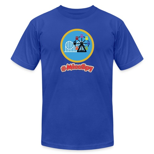 Paradise Pier Explorer Badge - Men's  Jersey T-Shirt