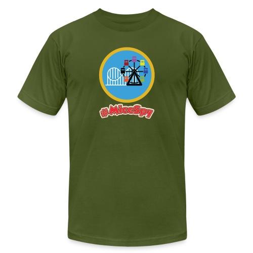 Paradise Pier Explorer Badge - Men's  Jersey T-Shirt