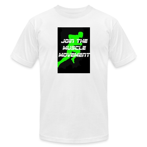 muscle movement - Unisex Jersey T-Shirt by Bella + Canvas