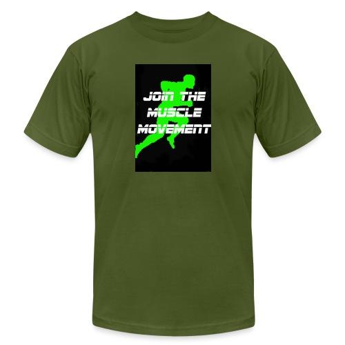 muscle movement - Men's Jersey T-Shirt