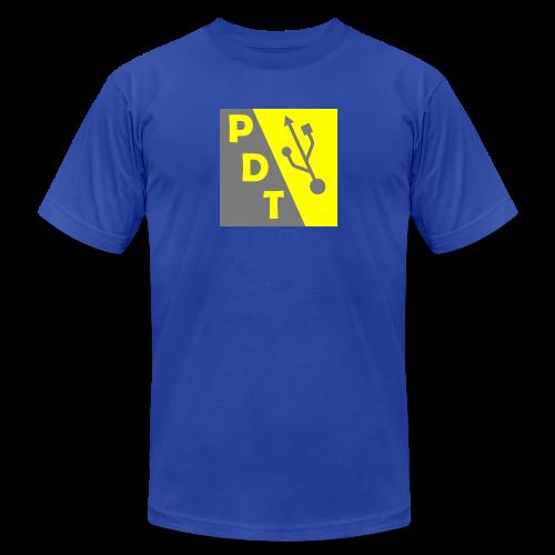 PDT Logo - Men's  Jersey T-Shirt