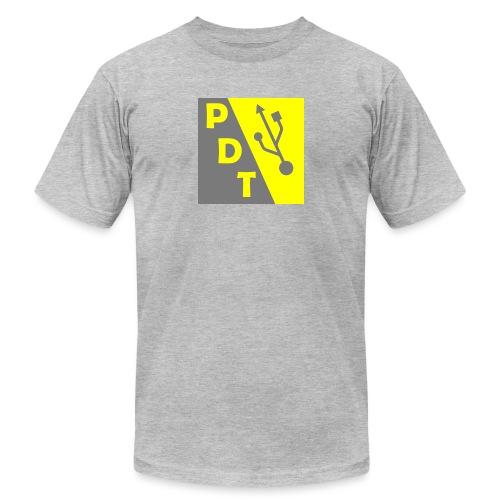 PDT Logo - Unisex Jersey T-Shirt by Bella + Canvas