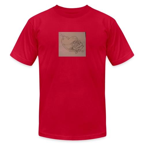 Love - Unisex Jersey T-Shirt by Bella + Canvas