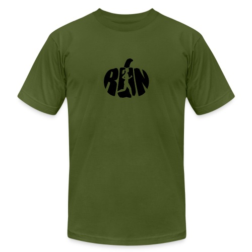 Halloween Running Pumpkin - Men's Jersey T-Shirt