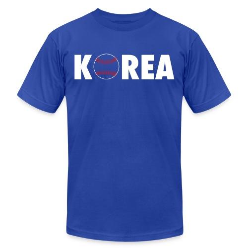 korea ball logo1 - Unisex Jersey T-Shirt by Bella + Canvas