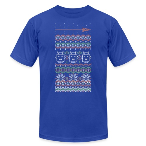 rf xmastee top - Unisex Jersey T-Shirt by Bella + Canvas