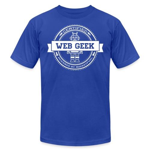 webgeek robot rev - Unisex Jersey T-Shirt by Bella + Canvas