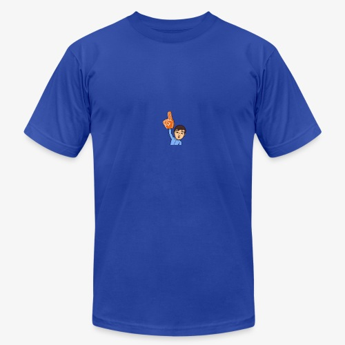Number 1 - Men's Fine Jersey T-Shirt