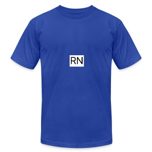 RN_Logo_small - Men's Fine Jersey T-Shirt