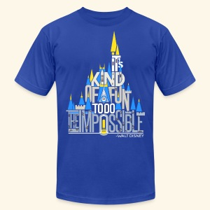 It's Kind Of Fun... - Men's T-Shirt by American Apparel