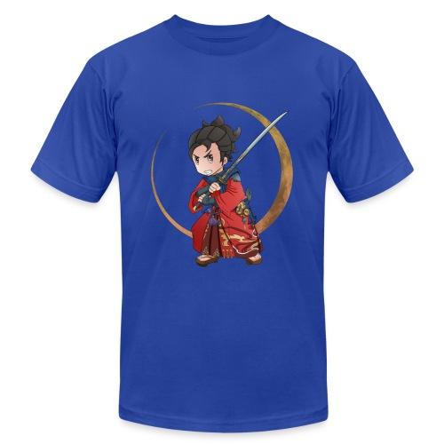 Chibi Samurai 1 - Men's Fine Jersey T-Shirt