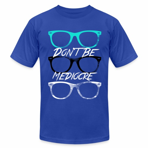Mediocre Glasses - Men's Fine Jersey T-Shirt