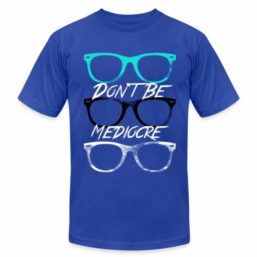 Mediocre Glasses - Men's  Jersey T-Shirt