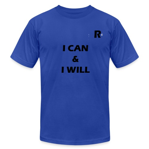 RayTive ICAN IWILL - Men's  Jersey T-Shirt
