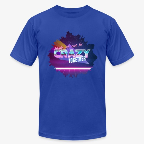 Maybe we can be CRAZY TOGETHER Splatter - Men's Fine Jersey T-Shirt