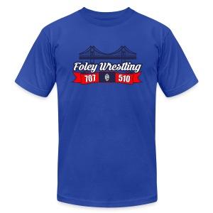 Foley Wrestling - Men's Fine Jersey T-Shirt