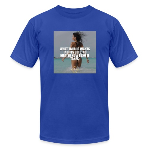 Motivational Quote Taurus - Men's Fine Jersey T-Shirt