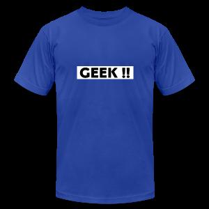 THE GEEKY SHIRT !! - Men's Fine Jersey T-Shirt