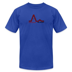 New Logo (With Name) - Men's Fine Jersey T-Shirt