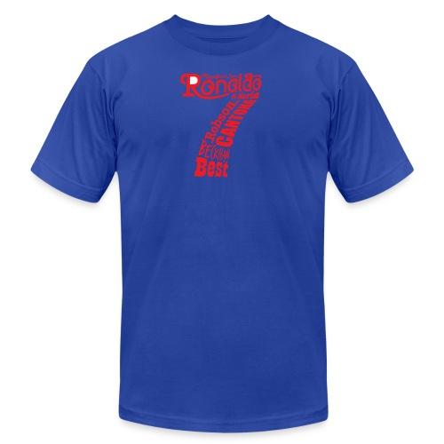 man utd magnificent sevens - Men's Fine Jersey T-Shirt