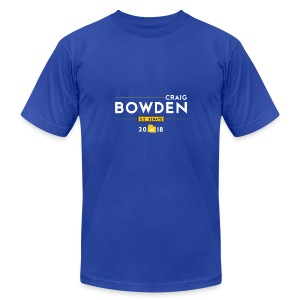 Craig Bowden - US Senate - Men's Fine Jersey T-Shirt
