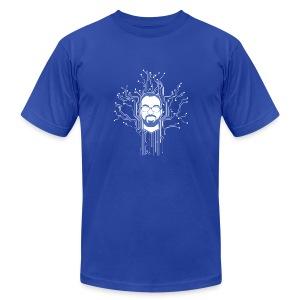 DB Tech Circuit - Men's Fine Jersey T-Shirt
