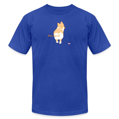 Where is my tail? - Men's Fine Jersey T-Shirt