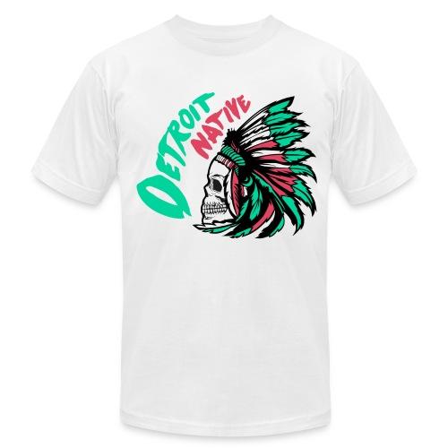 Detroit Native color - Unisex Jersey T-Shirt by Bella + Canvas