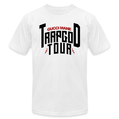 Trapgod tour 2 png - Unisex Jersey T-Shirt by Bella + Canvas