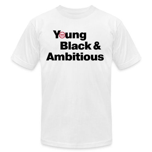 YBA white and gray shirt - Men's Jersey T-Shirt