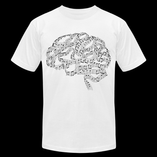 Sound of Mind   Audiophile's Brain - Unisex Jersey T-Shirt by Bella + Canvas