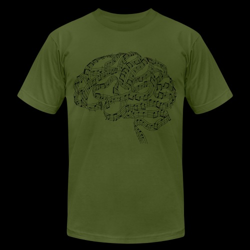 Sound of Mind | Audiophile's Brain - Unisex Jersey T-Shirt by Bella + Canvas