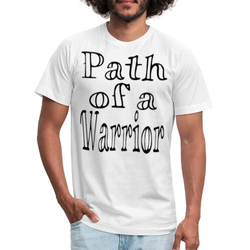 Path of a Warrior (White) - Unisex Jersey T-Shirt by Bella + Canvas