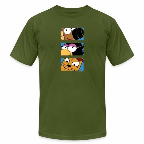 Rantdog Trio - Unisex Jersey T-Shirt by Bella + Canvas