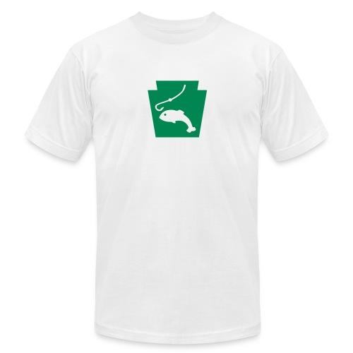 Pennsylvania Fishing Keystone PA - Unisex Jersey T-Shirt by Bella + Canvas