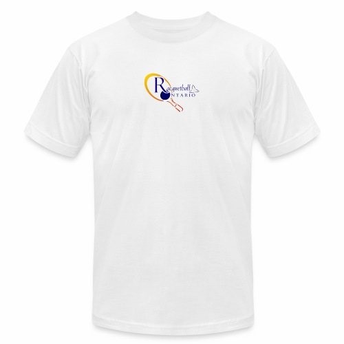 Racquetball Ontario branded products - Unisex Jersey T-Shirt by Bella + Canvas