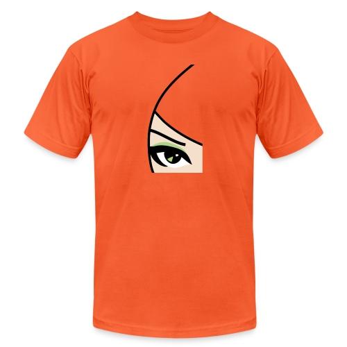 Banzai Chicks Single Eye Women's T-shirt - Unisex Jersey T-Shirt by Bella + Canvas