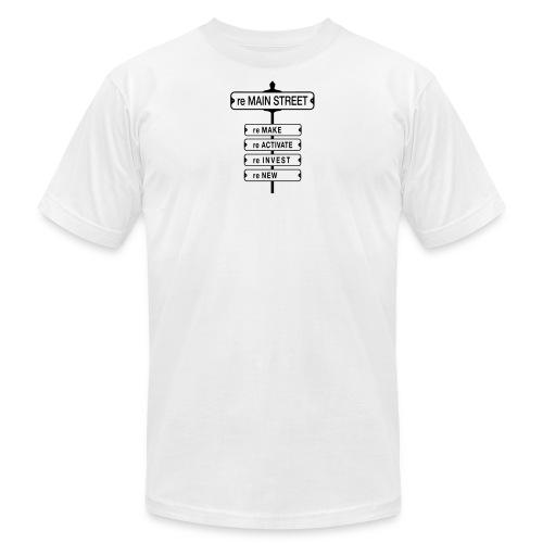 MainStreet_Front-ALT5 - Unisex Jersey T-Shirt by Bella + Canvas