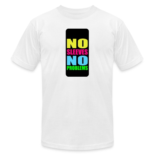 neonnosleevesiphone5 - Unisex Jersey T-Shirt by Bella + Canvas
