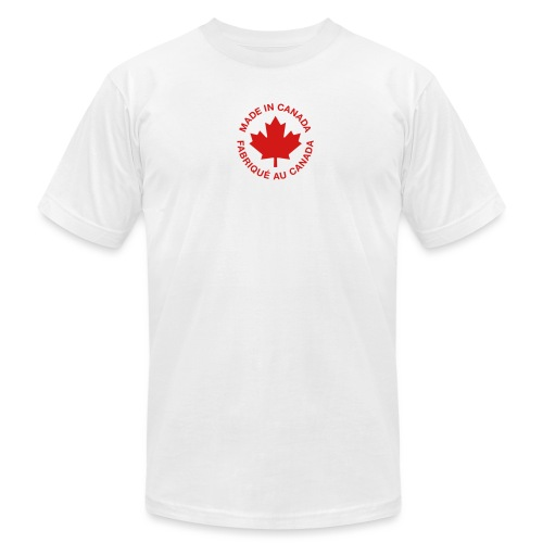 Made in Canada - Unisex Jersey T-Shirt by Bella + Canvas