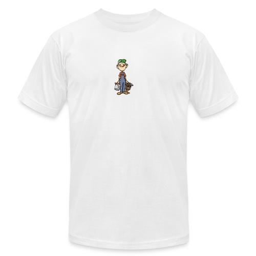 a4 marc logo - Unisex Jersey T-Shirt by Bella + Canvas