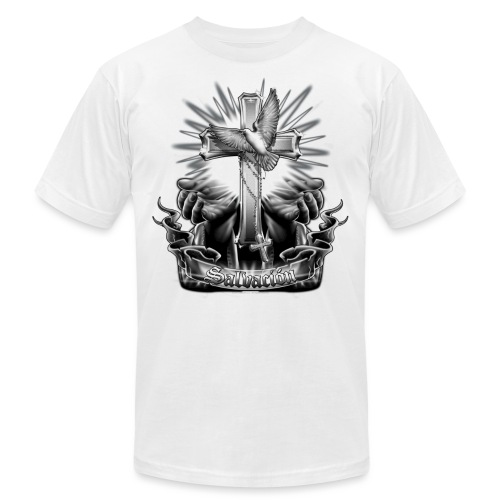 Salvacion by RollinLow - Unisex Jersey T-Shirt by Bella + Canvas