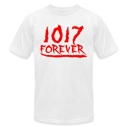 1017 4ever official2 png - Unisex Jersey T-Shirt by Bella + Canvas