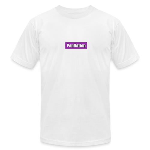 PanNation Box Logo - Men's  Jersey T-Shirt