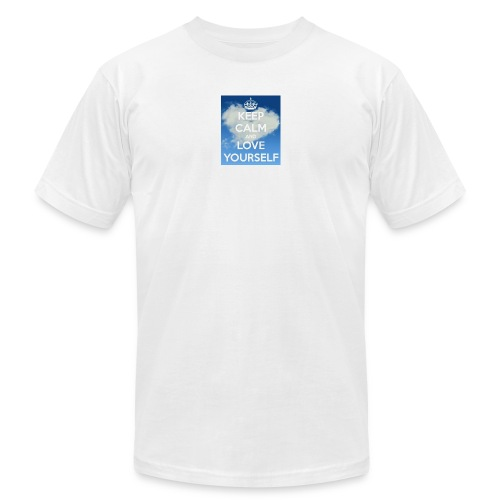 Keep calm and love yourself - Men's  Jersey T-Shirt