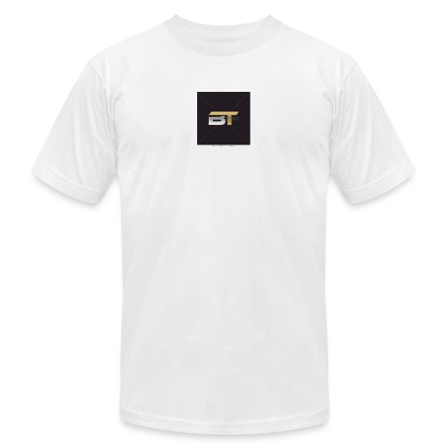BT logo golden - Unisex Jersey T-Shirt by Bella + Canvas